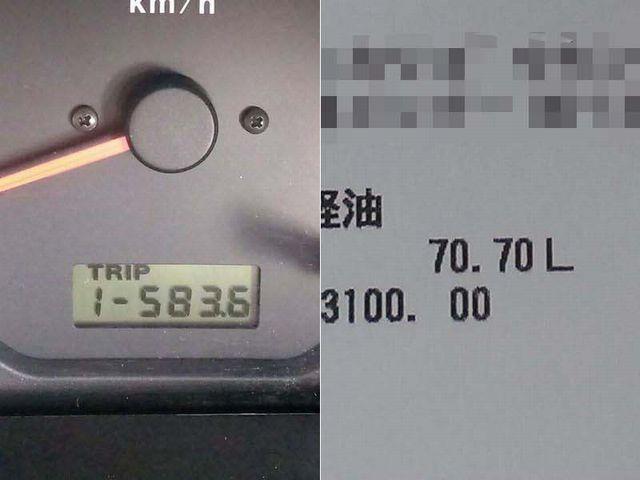 141011 583.6キロで70.7リットル.jpg